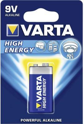 Батарейка Varta High Energy 6LR61 1 шт