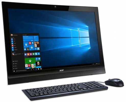 Моноблок 21.5 Acer Aspire Z1-622 1920 x 1080 Intel Pentium-J3710 4Gb 500Gb Nvidia GeForce GT 920M 2048 Мб DOS черный DQ.B5GER.001 DQ.B5GER.001