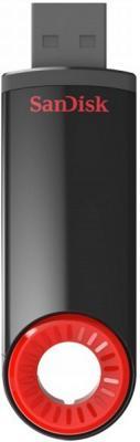 Флешка USB 64Gb SanDisk Cruzer Dial SDCZ57-064G-B35 черный/красный