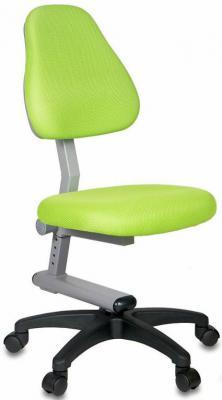 Кресло детское Бюрократ KD-8/TW-18 салатовый стул компьютерный бюрократ kd 8 dino y