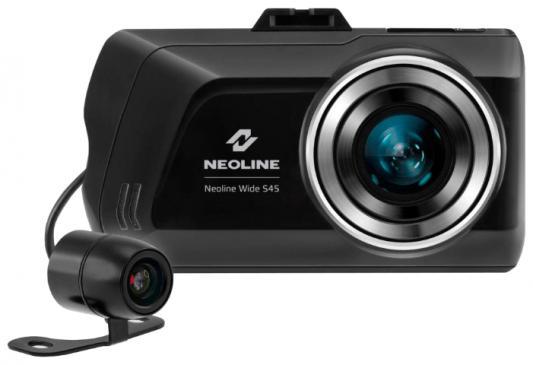 "Видеорегистратор Neoline Wide S45 Dual 3"" 1920x1080 155° microSD microSDHC датчик движения HDMI"