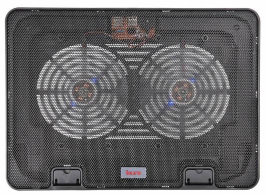 Подставка для ноутбука 15.6 Buro BU-LCP156-B214H металл/пластик 1400об/мин 21db черный подставка для ноутбука до 15 6 cooler master notepal x slim ii r9 nbc xs2k gp пластик металл 900об мин 23db черный