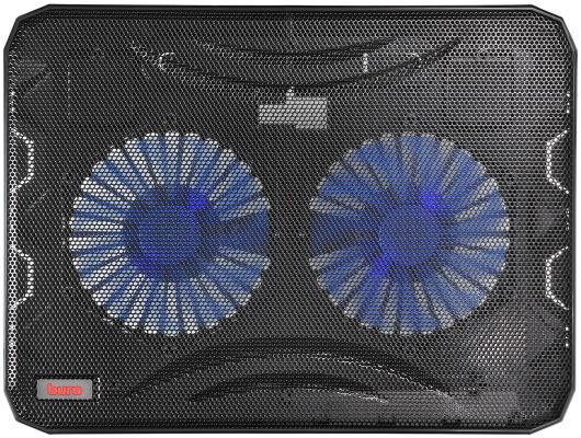 """Подставка для ноутбука 15.6"""" Buro BU-LCP156-B214 металл/пластик 1000об/мин 22db черный"""