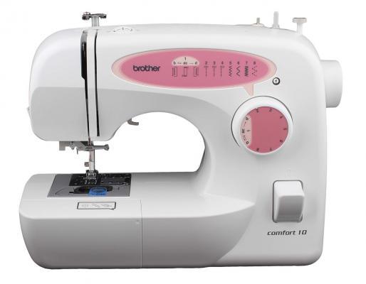 Швейная машина Comfort 10 белый красный