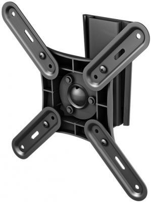 Кронштейн VOBIX VX 2612 B черный для ЖК ТВ 17-37 VESA до 200 х 200 мм 15кг кронштейн vobix vx 5541 b до 25кг