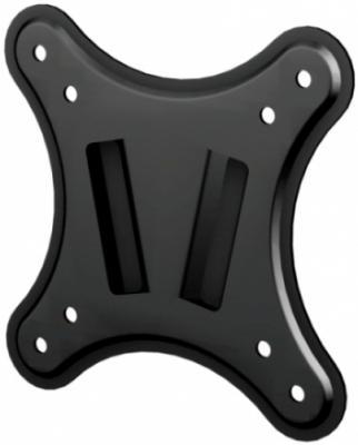 "Кронштейн VOBIX VX 2210 B черный для ЖК ТВ 17-22"" VESA до 100 х 100 мм 20кг кронштейн для тв и панелей vobix vx 5533 b vx 5533 b vobix чер"