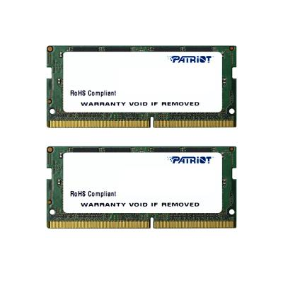 Оперативная память для ноутбуков SO-DDR4 16Gb (2x8Gb) PC4-17000 2133MHz DDR4 DIMM Patriot PSD416G2133SK