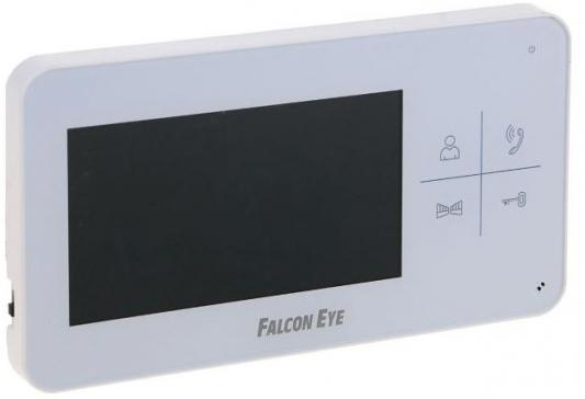Видеодомофон Falcon Eye FE-40C цветной TFT LCD 4.3 белый lcd display matrix 7 inch tablet h b0715fpc 21 u 60p tft lcd screen panel lens frame replacement free shipping