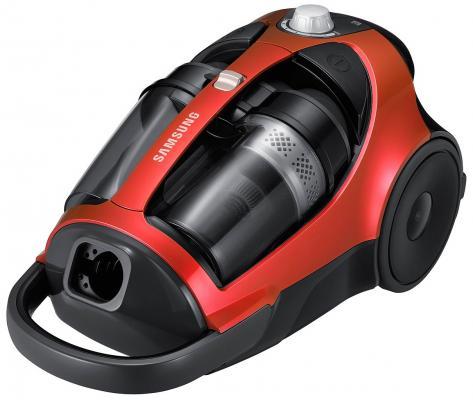 Пылесос Samsung SC885F сухая уборка красный чёрный пылесос lg vk76a06ndr сухая уборка красный серый