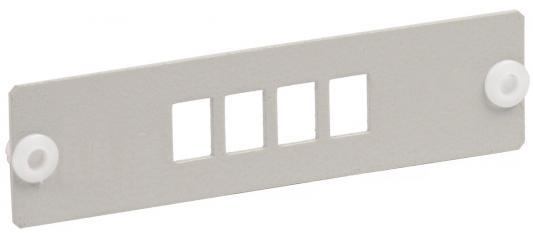 Патч-панель ITK FOBX-P8-SCDX фальш панель itk fp05 02u 19 2u черный