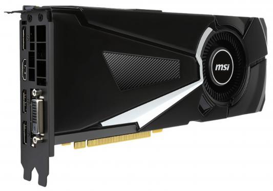 Видеокарта 8192Mb MSI GeForce GTX 1080 AERO 8G OC PCI-E 256bit GDDR5X DVI HDMI DP HDCP Retail