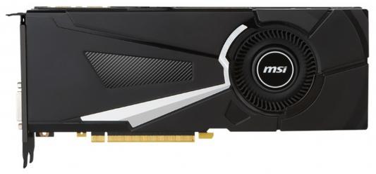 Видеокарта 8192Mb MSI GeForce GTX 1080 AERO 8G OC PCI-E 256bit GDDR5X DVI HDMI DP HDCP Retail видеокарта 8192mb msi rx 470 armor 8g oc pci e dvi hdmi dp hdcp retail