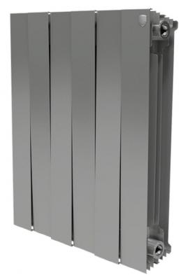 Радиатор Royal Thermo PianoForte 500/Silver Satin 6 секций  цена и фото