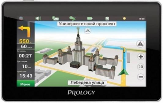 Навигатор Prology iMAP-4800 Навител 4.3 480х272 microSD черный навител навигатор венгрия румыния молдова [цифровая версия] цифровая версия