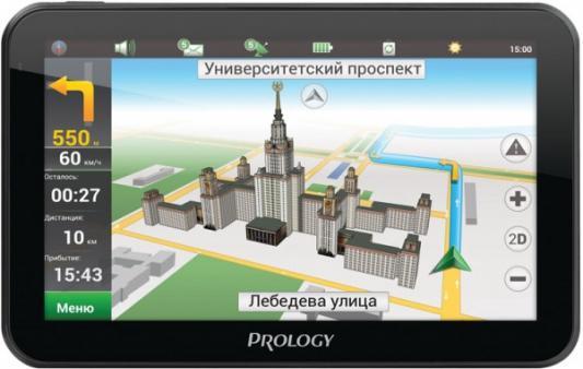 Навигатор Prology IMAP-5700 Навител 5 480x272 microSD черный prology ex 62c