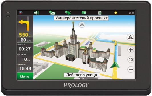 "Навигатор Prology iMap-4500 Навител 4.3"" 480x272 microSD черный"