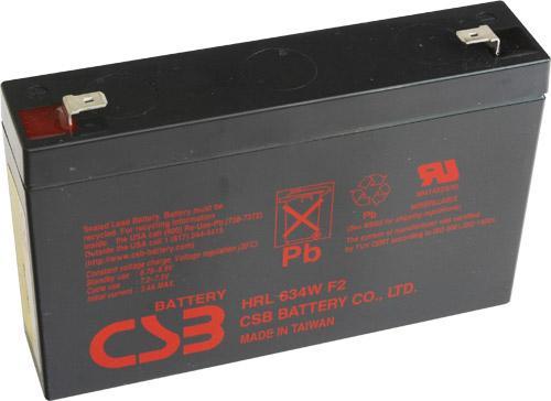 Батарея CSB HRL634W F2 6V/9AH HRL634WF2FR цена и фото