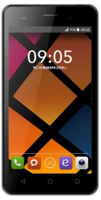 """Смартфон BQ BQS 5505 Amsterdam серебристый 5.5"""" 8 Гб Wi-Fi GPS 3G"""