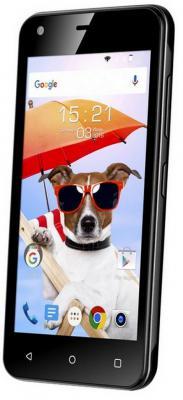 "Смартфон Fly FS454 Nimbus 8 черный 4.5"" 4 Гб Wi-Fi GPS 3G FS502"