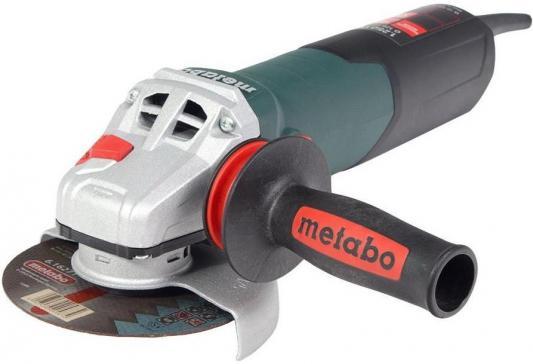 Углошлифовальная машина Metabo W12-125Quick 125 мм 1250 Вт 600398500 углошлифовальная машина metabo w12 125