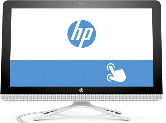 "Моноблок 21.5"" HP 22-b056ur 1920 x 1080 Multi Touch Intel Core i3-6100U 8Gb 1Tb + 8 SSD Nvidia GeForce GT 920A 2048 Мб Windows 10 Home белый X0Z46EA X0Z46EA"
