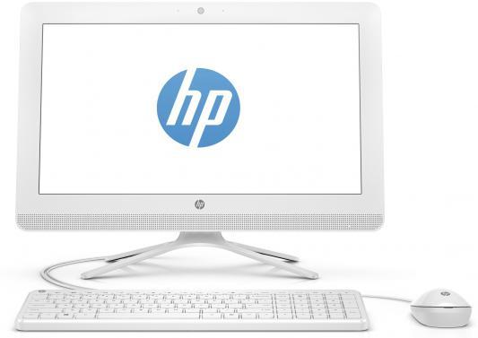 "Моноблок 19.5"" HP 20-c021ur 1600 x 900 AMD E-E2-7110 2Gb 500Gb AMD Radeon R2 64 Мб DOS белый X0Z28EA"