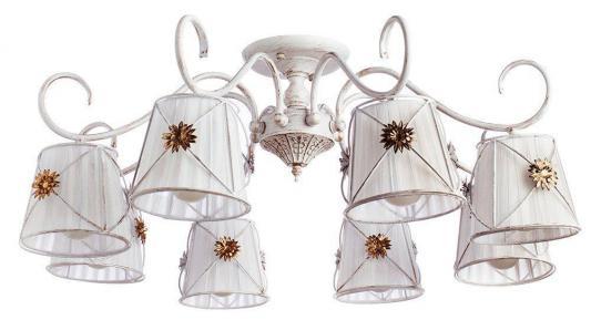Потолочная люстра Arte Lamp 72 A5495PL-8WG люстра на штанге arte lamp fortuna a5495pl 8wg