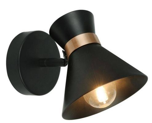 Спот Arte Lamp Baltimore A1406AP-1BK светильник настенный arte lamp baltimore a1406ap 1bk