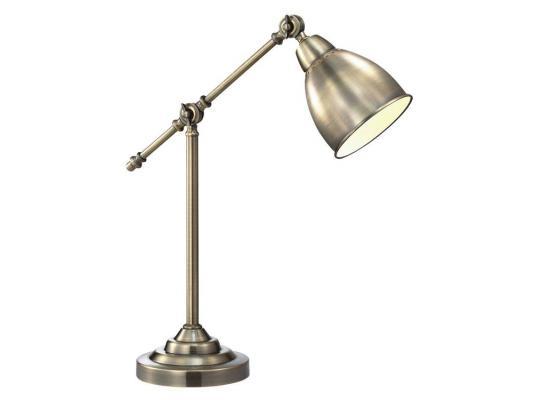 Настольная лампа Arte Lamp 43 A2054LT-1AB настольная лампа декоративная arte lamp cameroon a4581lt 1ab