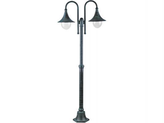 Садово-парковый светильник Arte Lamp Malaga A1086PA-2BG фонарь arte lamp malaga a1086pa 2bg