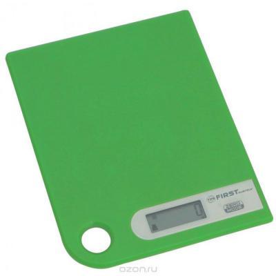 Весы кухонные First 6401-1 зелёный