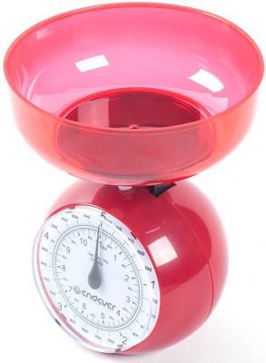 Весы кухонные ENDEVER Skyline KS-516 красный весы endever skyline ks 510s