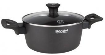 Кастрюля Rondell 586-RDA 20 см 3.6 л алюминий кастрюля с крышкой rondell 586