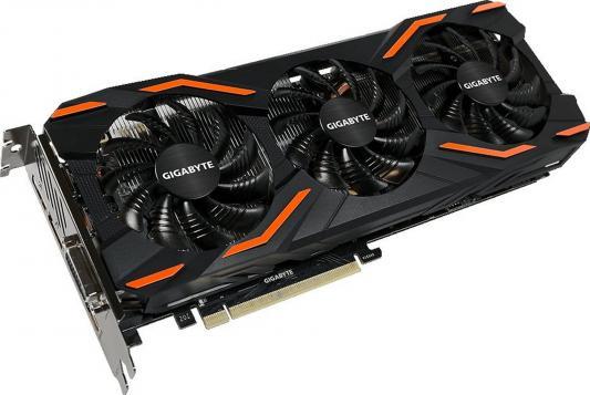 Видеокарта 8192Mb Gigabyte GeForce GTX1080 WF3 OC PCI-E 256bit GDDR5X DVI HDMI DP GV-N1080WF3OC-8GD Retail