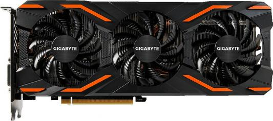 Видеокарта GigaByte GeForce GTX 1080 WINDFORCE OC 8G PCI-E 8192Mb GDDR5X 256 Bit Retail (GV-N1080WF3OC-8GD)