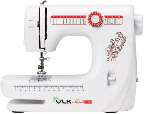 Швейная машина VLK Napoli 2500 белый швейная машина vlk napoli 2100 белый