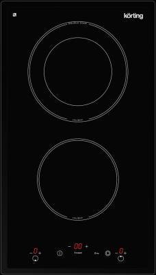 Варочная панель электрическая Korting HK 32033 B черный электрическая варочная панель korting hk 32033 b hk 32033 b