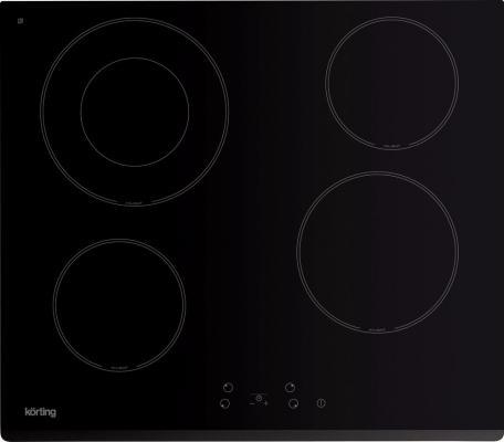Варочная панель электрическая Korting HK 62001 B черный