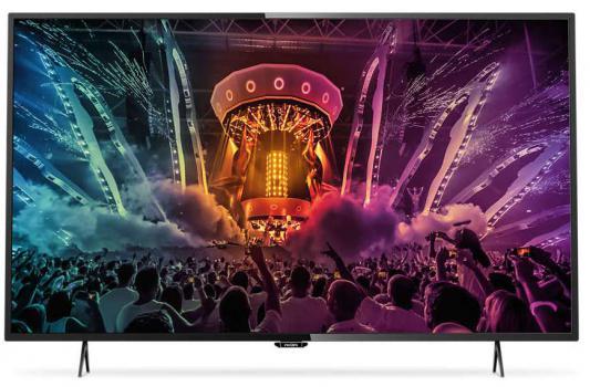 Телевизор Philips 55PUT6101/60 черный led телевизор philips 24pht4031 60
