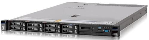 Сервер Lenovo x3550 M5 8869ERG сервер lenovo x3550 m5 8869ejg 8869ejg
