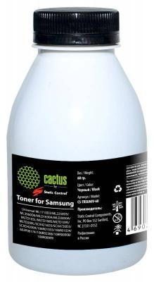 Тонер Cactus CS-TRSUNIV-60 для Samsung 1610/2010/SCX-4100/4200 черный 60гр cactus cs s4200 black тонер картридж для samsung scx 4200