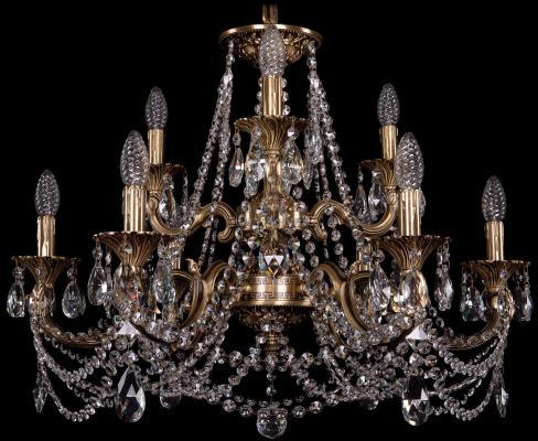 Подвесная люстра Bohemia Ivele 1722/6+3/265+181/C/FP люстра 1722 6 3 265 181 a fp bohemia ivele crystal