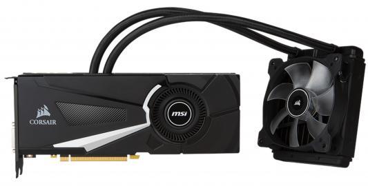 Видеокарта 8192Mb MSI GeForce GTX 1070 SEA HAWK X PCI-E GDDR5 Retail