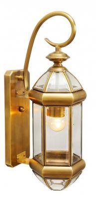 Уличный настенный светильник Chiaro Мидос 802020401 family and values