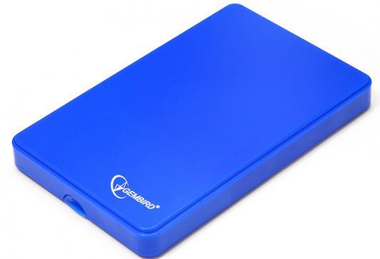 "Внешний контейнер для HDD 2.5"" SATA Gembird EE2-U2S-40P-B USB2.0 синий"