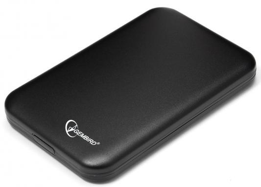 """Внешний контейнер для HDD 2.5"""" SATA Gembird EE2-U2S-43 USB2.0 черный"""