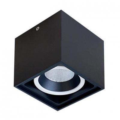 Потолочный светильник Donolux DL18415/11WW-SQ Black/White Dim потолочный светильник donolux dl18415 11ww sq white black
