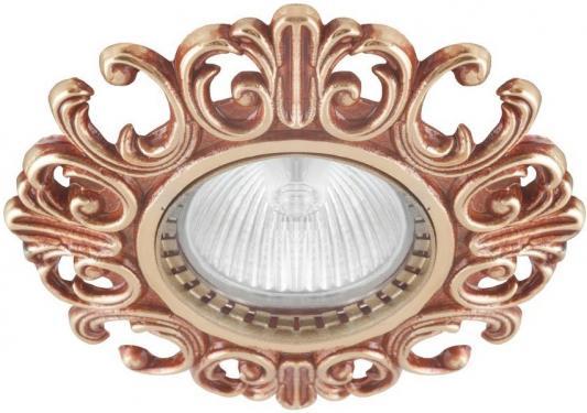 Встраиваемый светильник Donolux N1554-French Gold donolux встраиваемый светильник donolux n1554 chrome