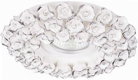Встраиваемый светильник Donolux N1628-White+silver встраиваемый светильник donolux a1551 pat silver