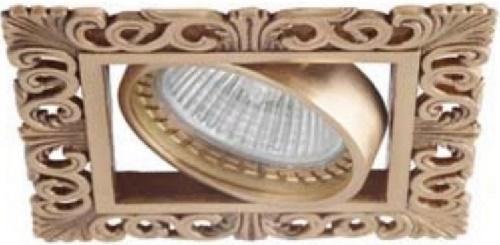 Встраиваемый светильник Donolux SA1563-French Gold светильник donolux sa1541 sa1543 alu